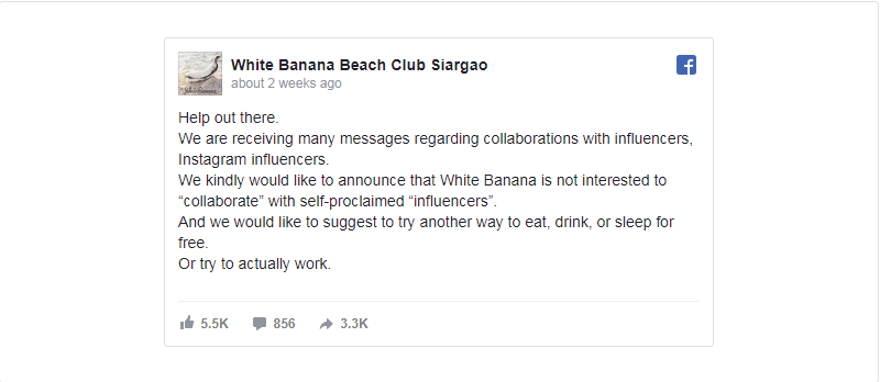 White_Banana_influencer_post