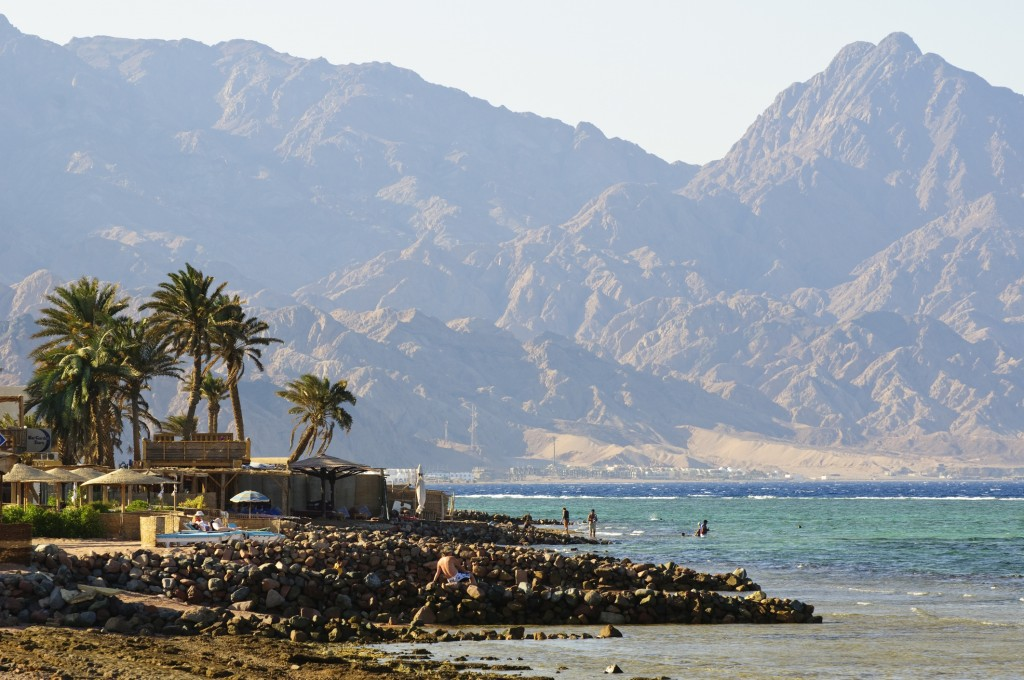 Landscape of Dahab, Sinai