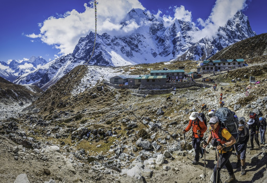 Spend 11 nights trekking the Everest Base Camp Helitrek, which includes two nights in Nepal.