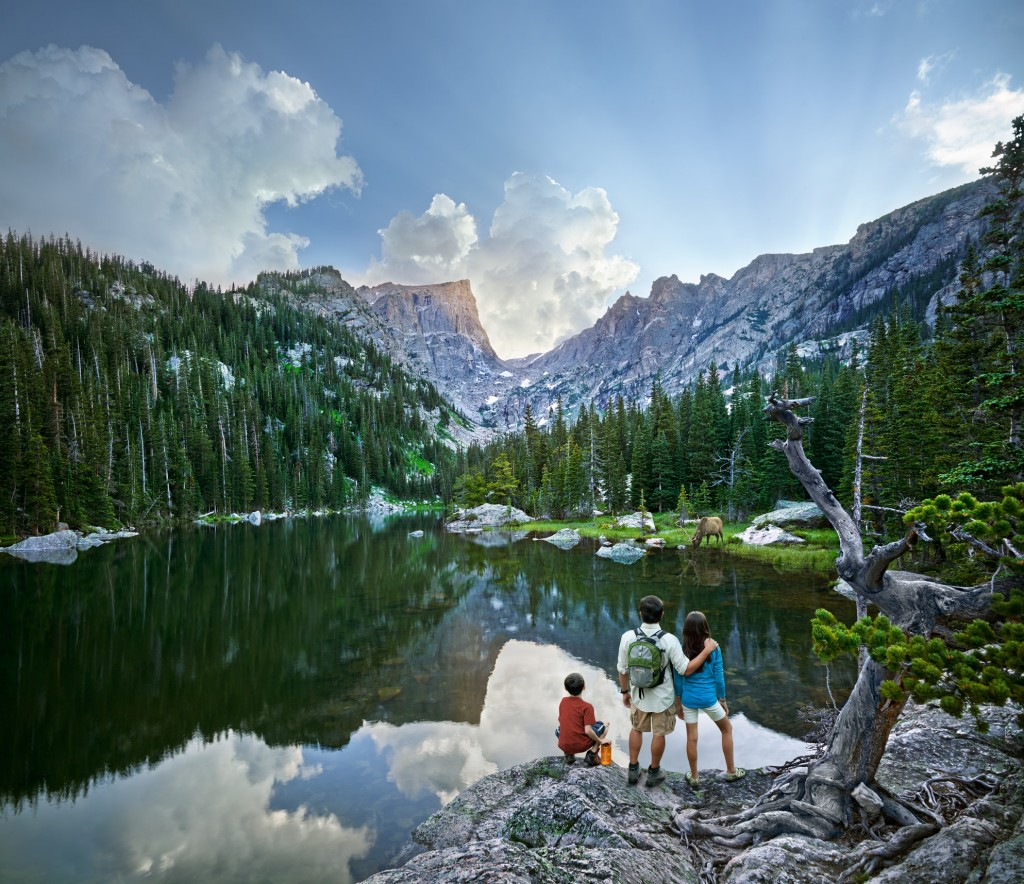 Follow the Trail Ridge road for an unmissable experience of the Rocky Mountain National Park