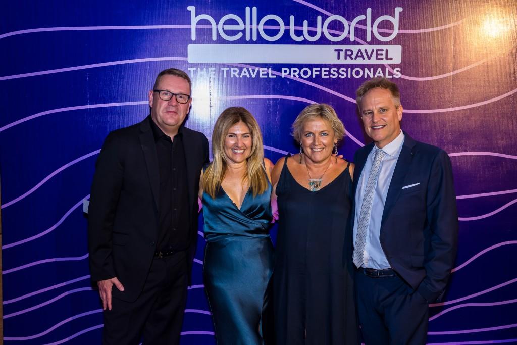 Jennifer Smith (Travel on Capri), Lyndie Dennehy - Tripaway Cruise & Travel and David Smith (Travel on Capri)