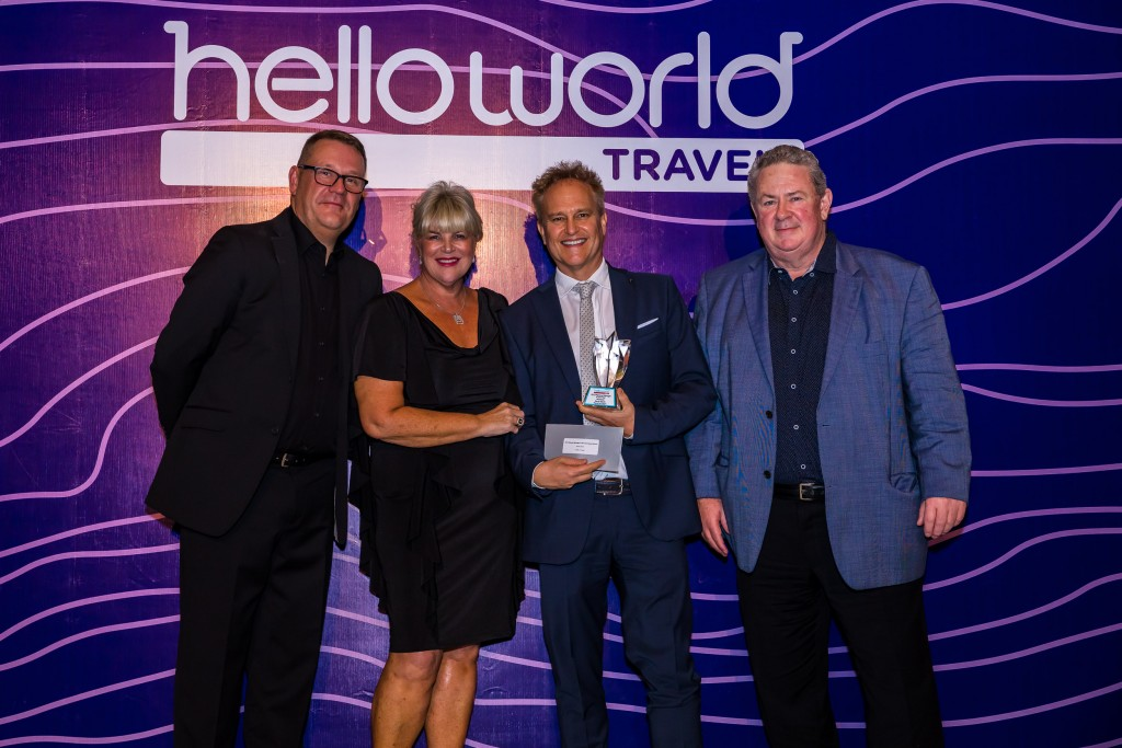 John Constable (Helloworld Travel Limited), Julie Primmer (Helloworld Travel Limited), David Smith – Travel on Capri and Andrew Burnes (Helloworld Travel Limited)
