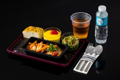 Qatar Airways new economy meals