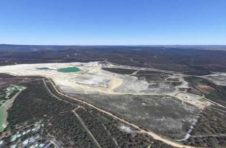 Alcoa mine site in Anglesea