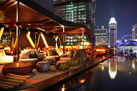 Cloud 9 Infinity Pool & Bar (Naumi Singapore) [2]