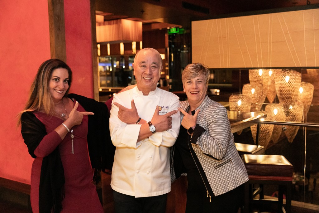 Crystal Cruises chef Nobu Matsuhisa