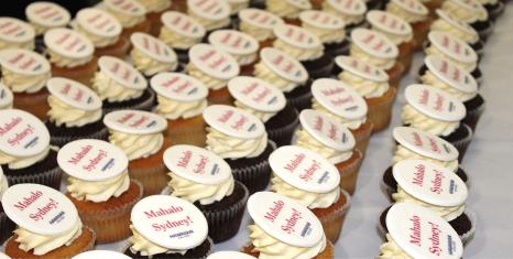 Hawaiian Airlines cupcakes