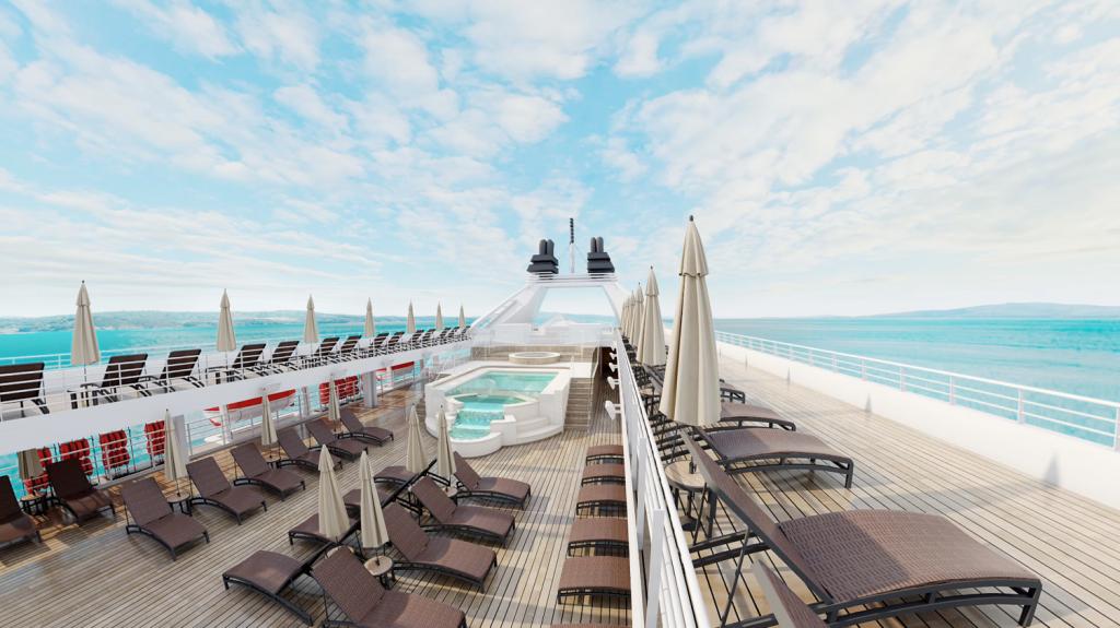 Windstar Cruises Star Plus Initiative infinity pool