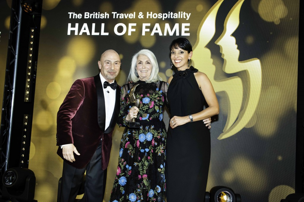 The British Travel & Hospitality Hall of Fame 2019. The Four Seasons Park Lane London Hotel. 29th April 2019. Photo by Steve Dunlop. Steve@SteveDunlop.com