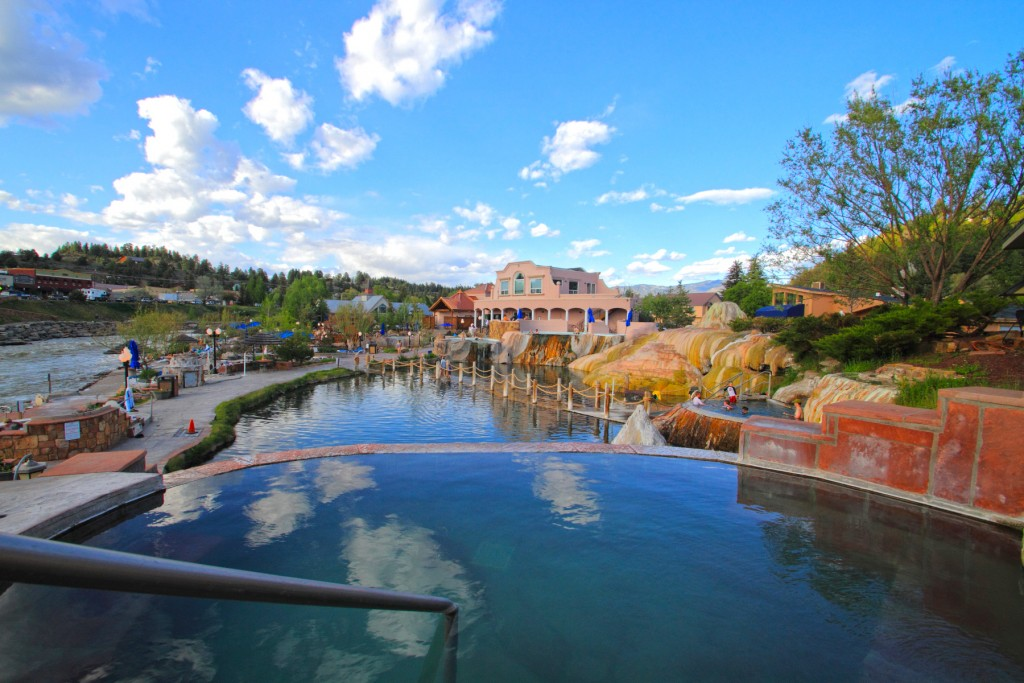 Pagosa Springs is surrounded by more than 3 million acres of national forest and wilderness areas