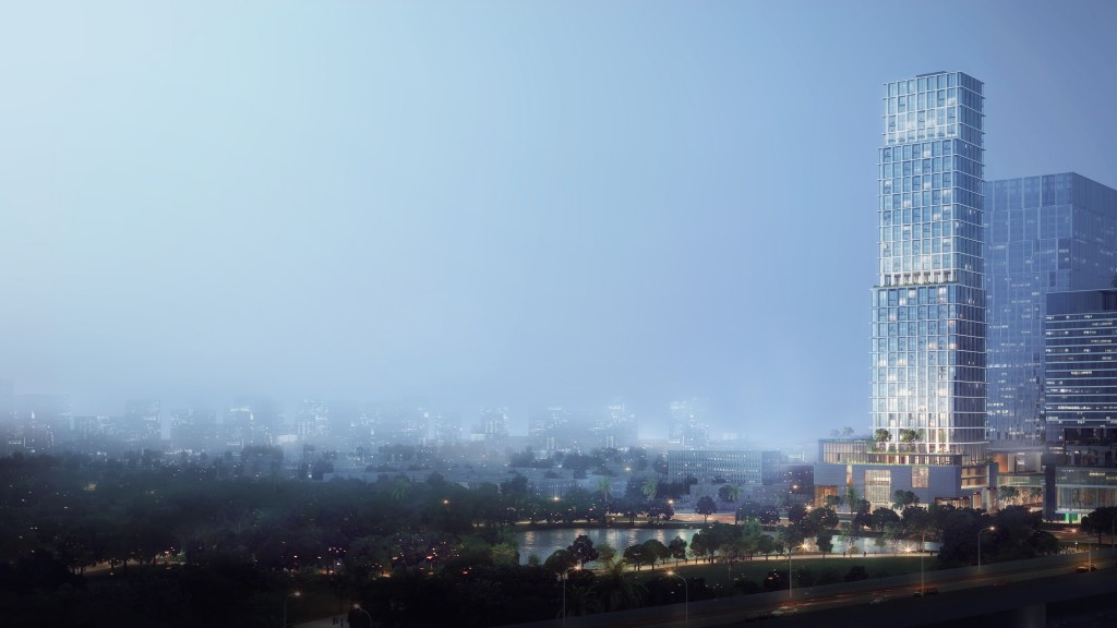 The Ritz-Carlton, Bangkok Night View