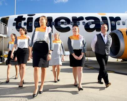 Tigerair Indigenous cabin crew graduates