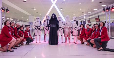 Virgin Australia's Star Wars activation