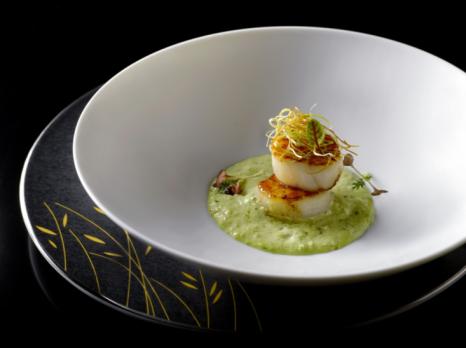 Wok-fried Hokkaido scallop, Six Senses Duxton
