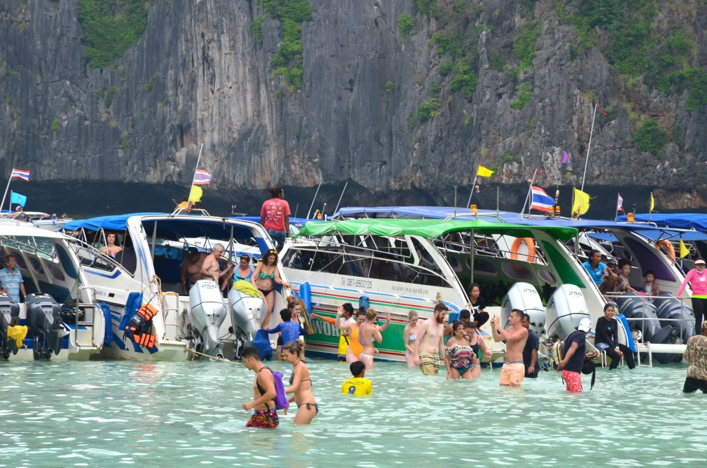 Maya Bay has been closed since June last year as part of a rejuvenation project for its decimated corals.