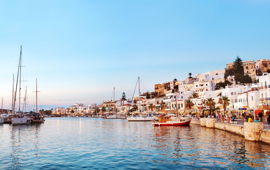 Along with extraordinary views that are the standard across the Greek islands, Naxos is also known for its charming city streets. Here, you can still find Greeks wearing traditional garb amid a wealth of ancient architecture and mythological history.