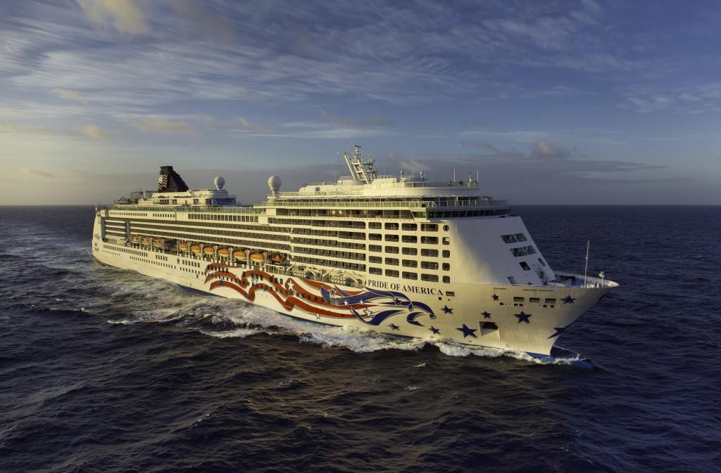 NCL Cruise Line, Pride of America, Nawiliwili, Kauai, Hawaii