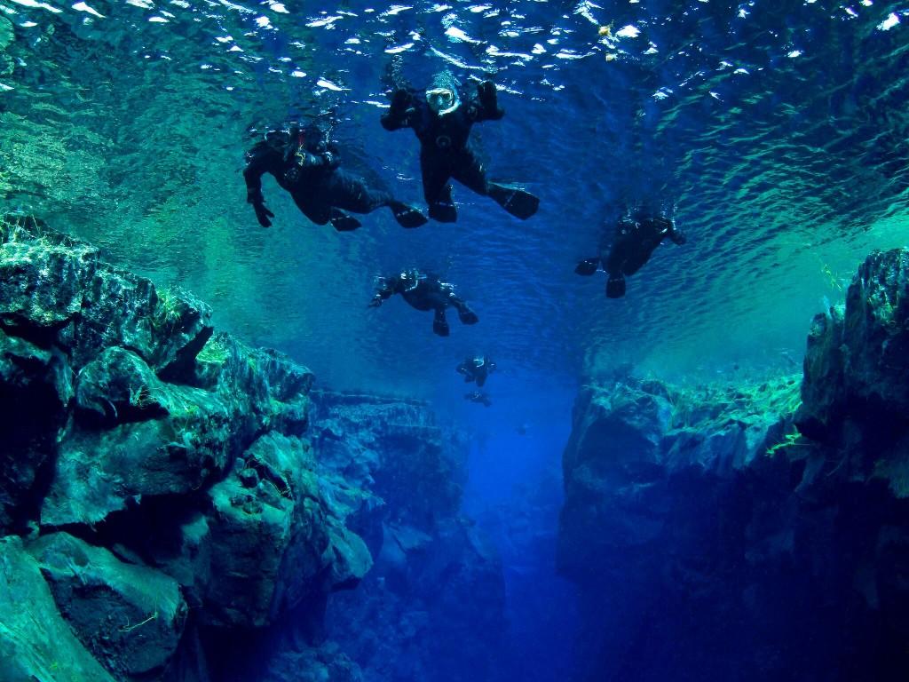 Snorkelling Silfra tour in Reykjavik, Iceland