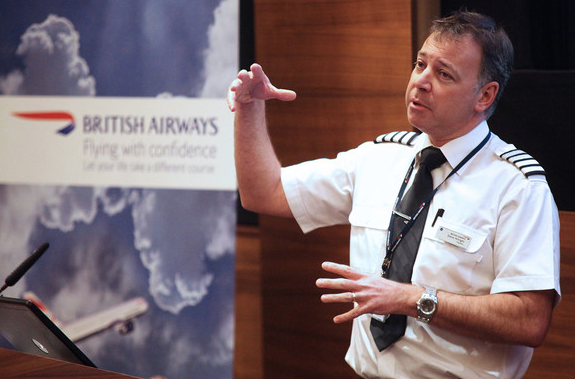 British Airways Captain Steve Allright
