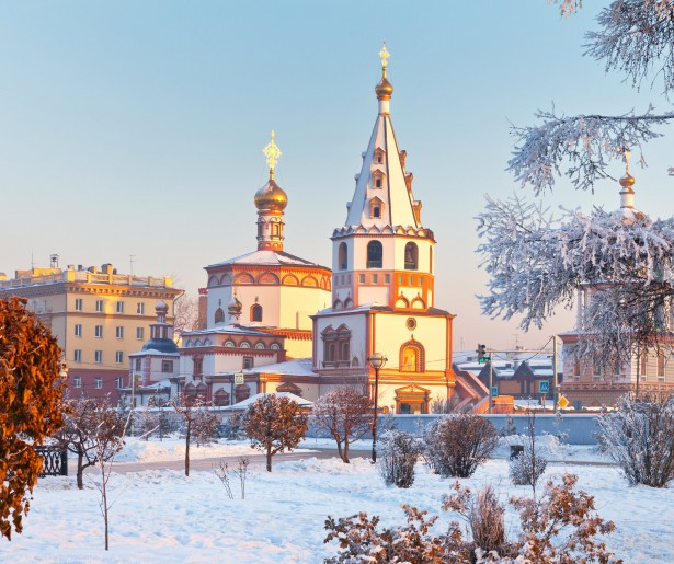 Epiphany Cathedral, Irkutsk-min