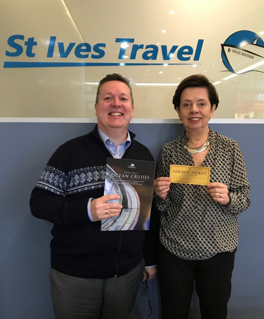 Golden Ticket Winner - St Ives Travel