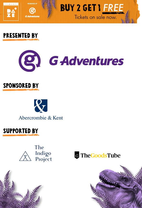 Travel DAZE 2019 sponsor block
