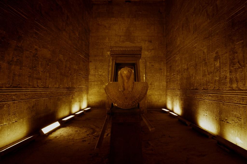 Naos of Nectanebo II - Horus Temple in Edfu