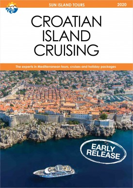 2020 Croatia Cruise Brochure Cover