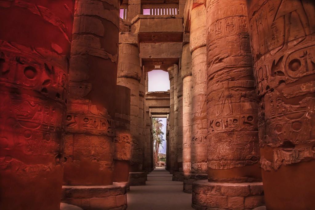 Egypt; Luxor, Karnak Temple