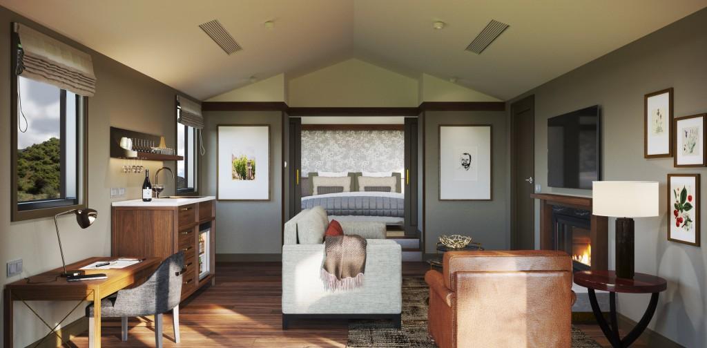 Gibbston Valley Lodge & Spa Villa Render