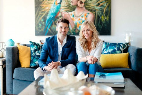 Matty J and Sophie Falkiner (Luxury Escapes)