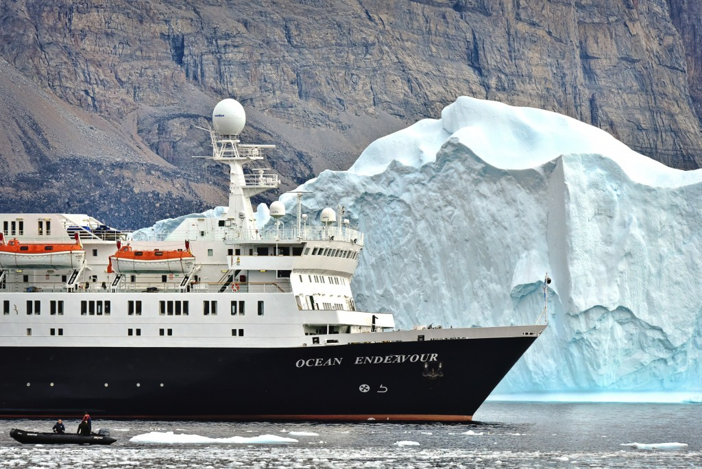 Ocean Endeavour in Arctic - pic credit - Michelle Valberg