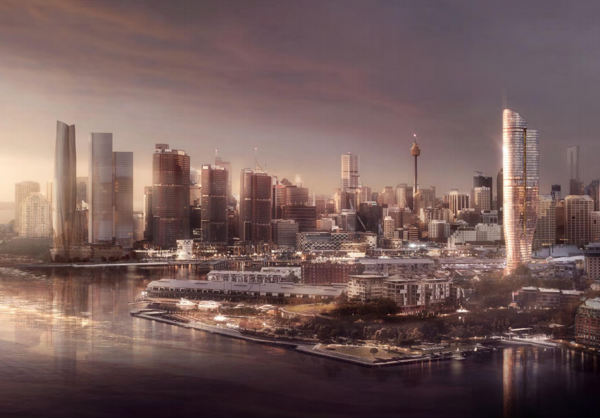 The rejected, proposed build by Star Casino for a Ritz-Carlton.