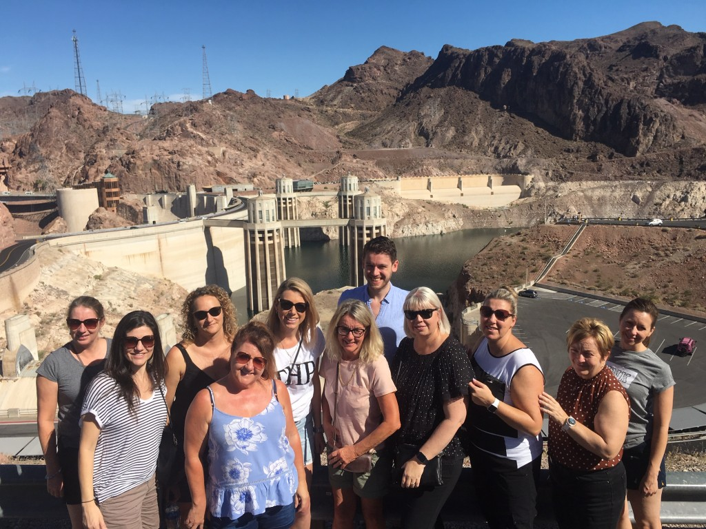 Vegas group - Hoover Dam