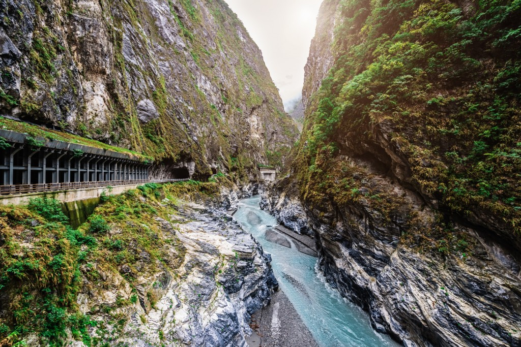 Taiwan Taroko Gorge National Park Scenic View