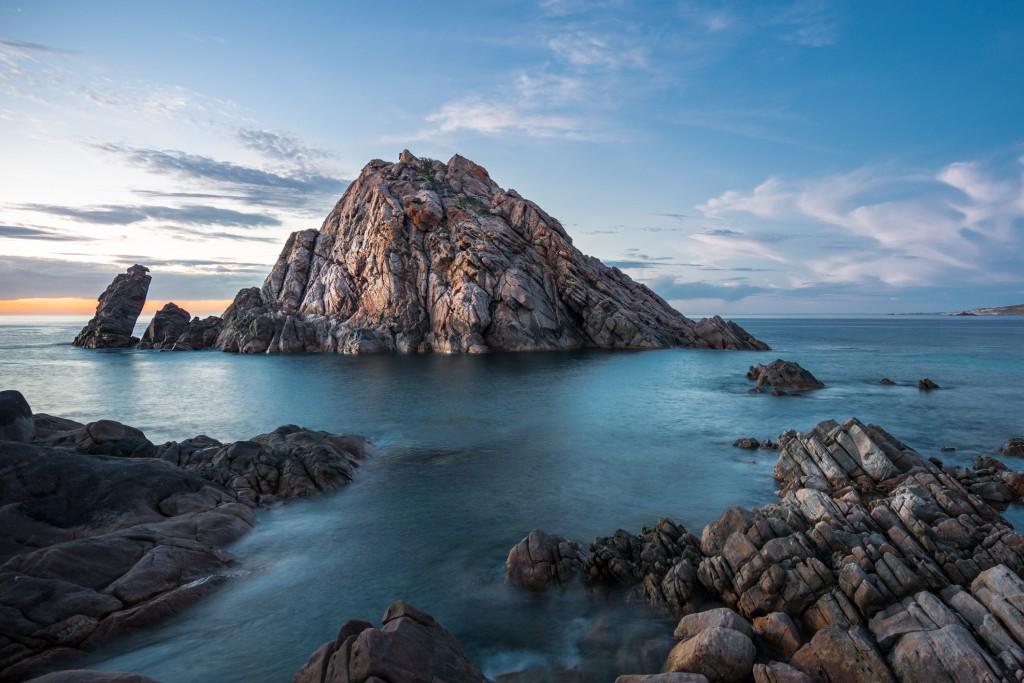 Sugarloaf Rock, Cape Naturaliste, Western Australia.