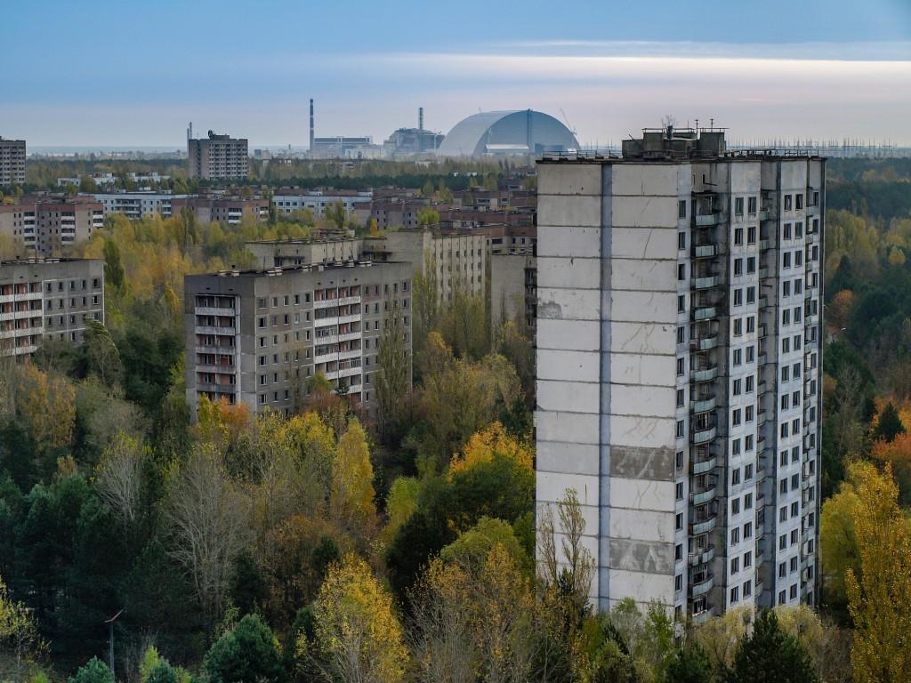 Pripyat in the Chernobyl Exclusion Zone, Ukraine, 2016