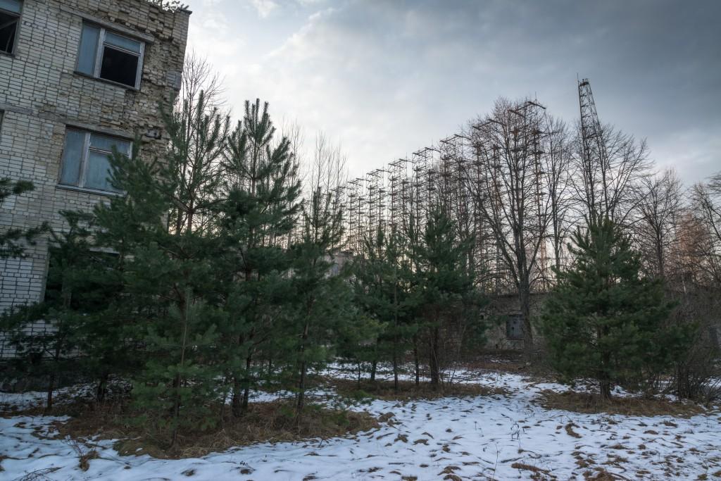 Soviet Radar System Duga near Chernobyl