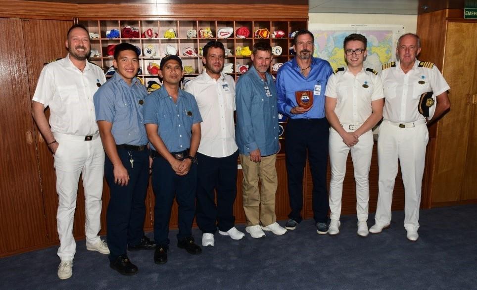Princess Cruises ship rescues shipwrecked sailors
