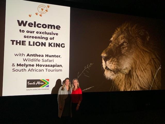 1. Anthea Hunter. Wildlife Safari & Melyne Hovasapian- Sydney