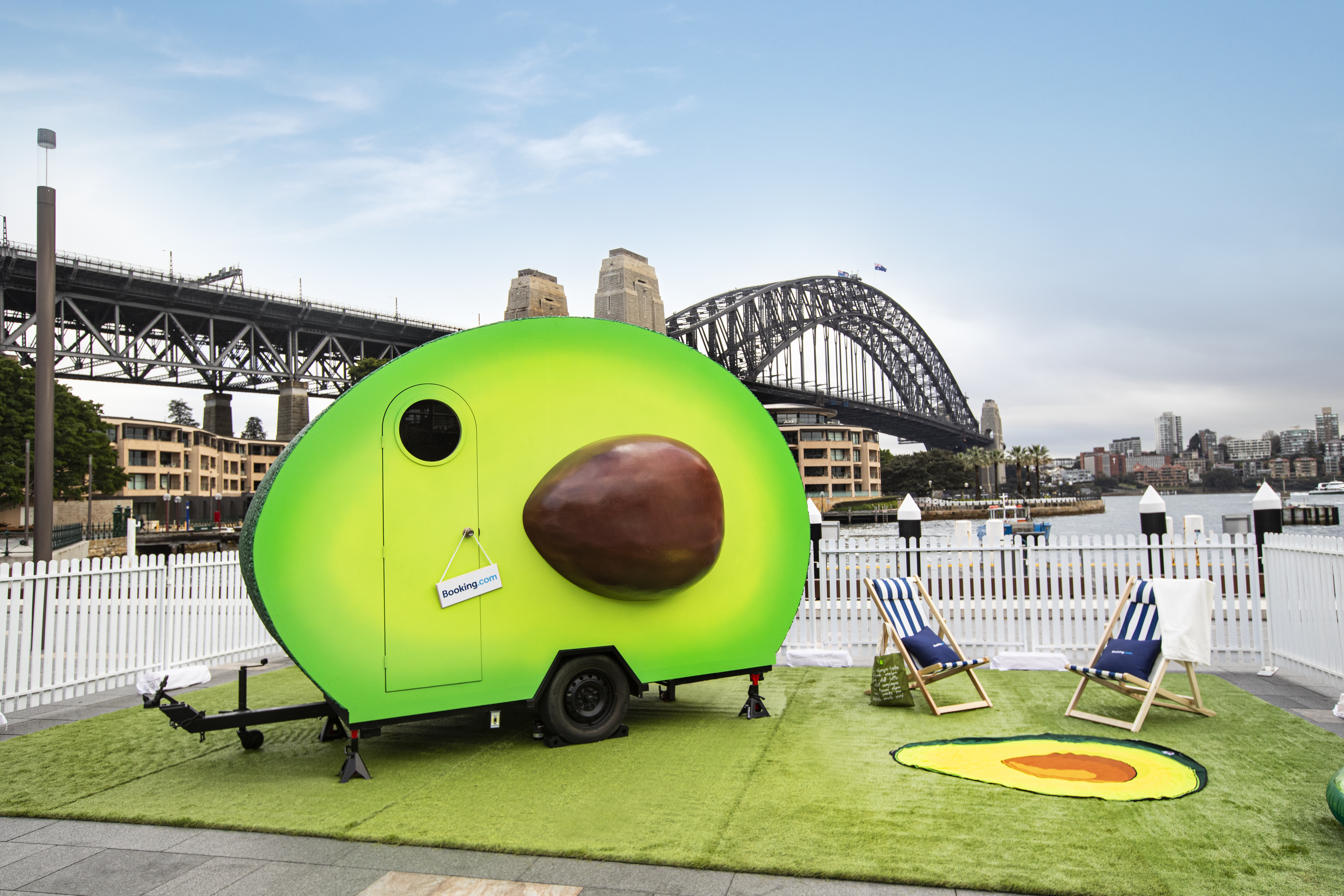 Booking.com gives Aussies the chance to stay in a giant avocado for a day