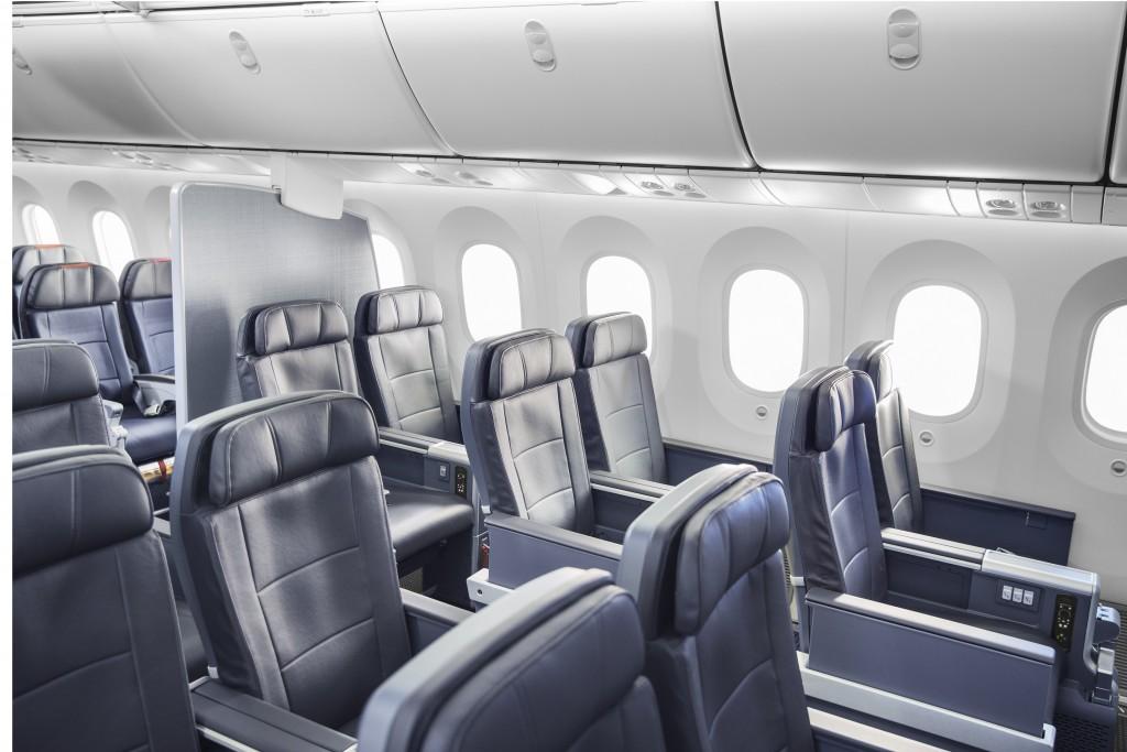 American Airlines Premium Economy cabin