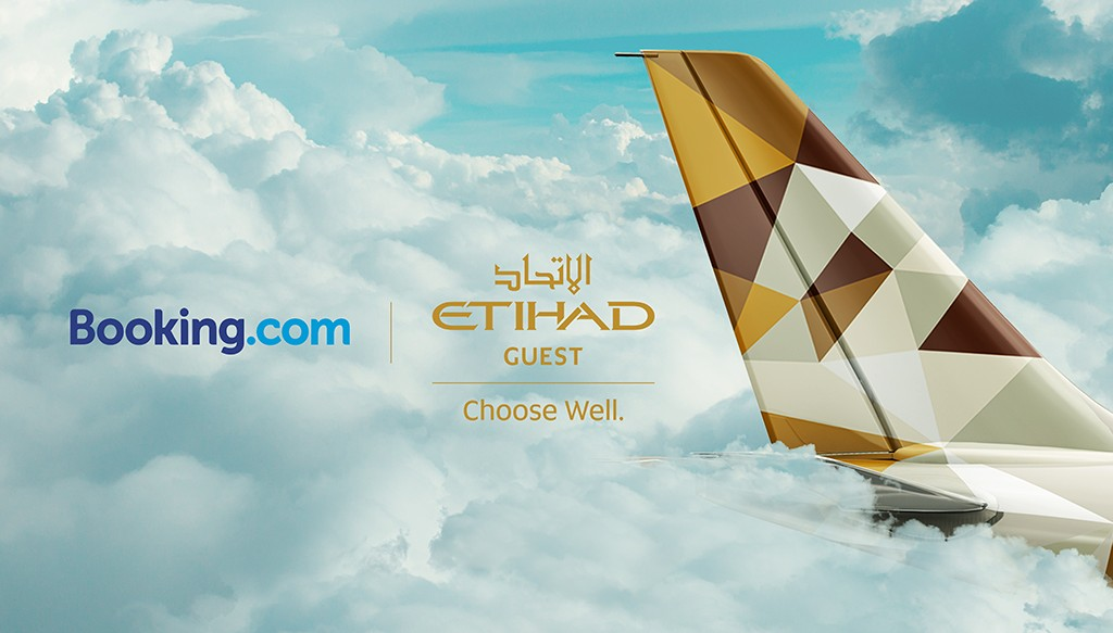 Booking.com and Etihad Guest