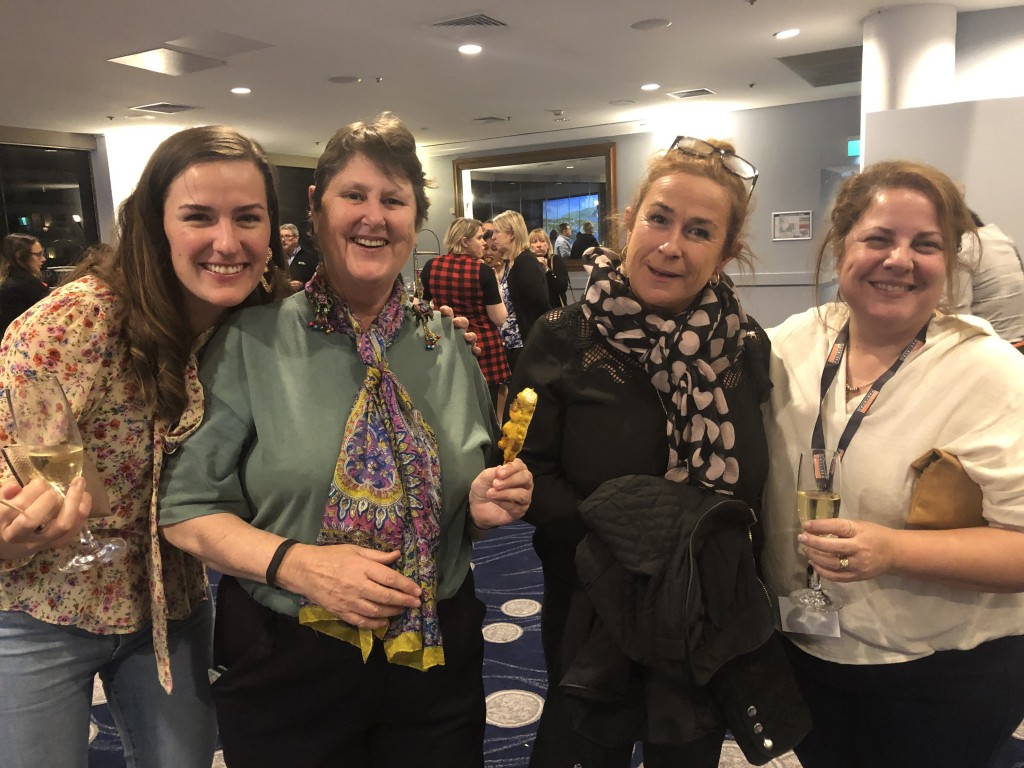 Pictured (L to R): Paula Doughty, Travel with Intention; Kerry Croft, Travel Counsellors; Christina Kerr, Travel Associates; Francesca Butler, TravelPartners