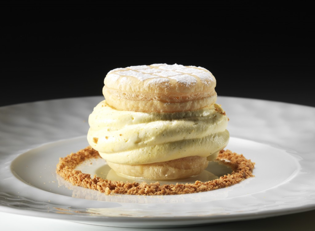 Dessert 'Millefoglie strachin'