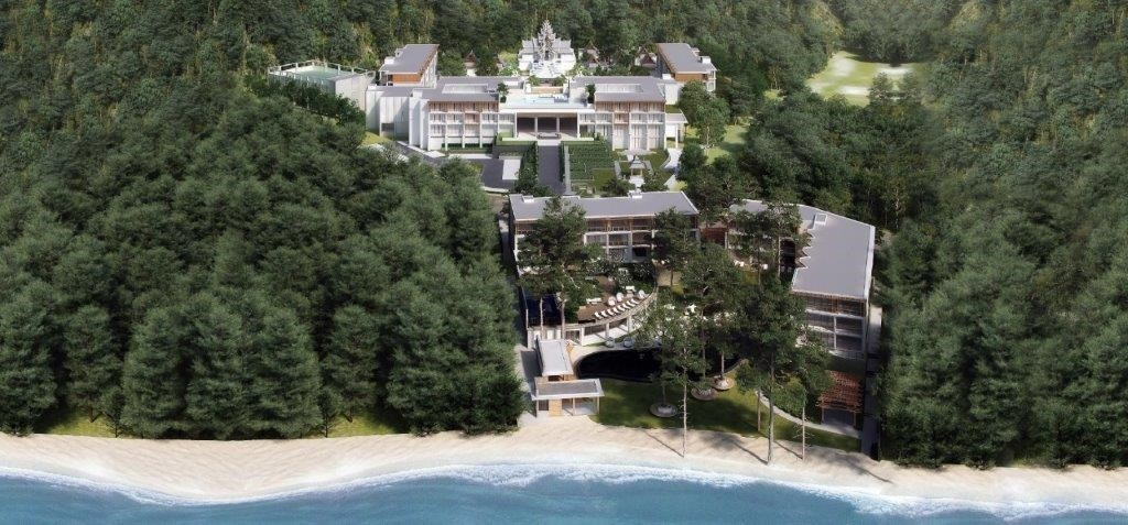 InterContinental Phuket Resort - Aerial View by Day