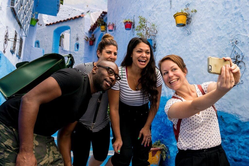 Intrepid Travel-Morocco - Selfie