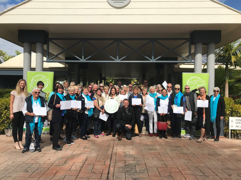 NOOSA VOLUNTEERS COMPLETE NOOSA ECO CHECK