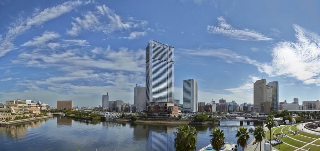 Oakwood Suites Yokohama Facade Image