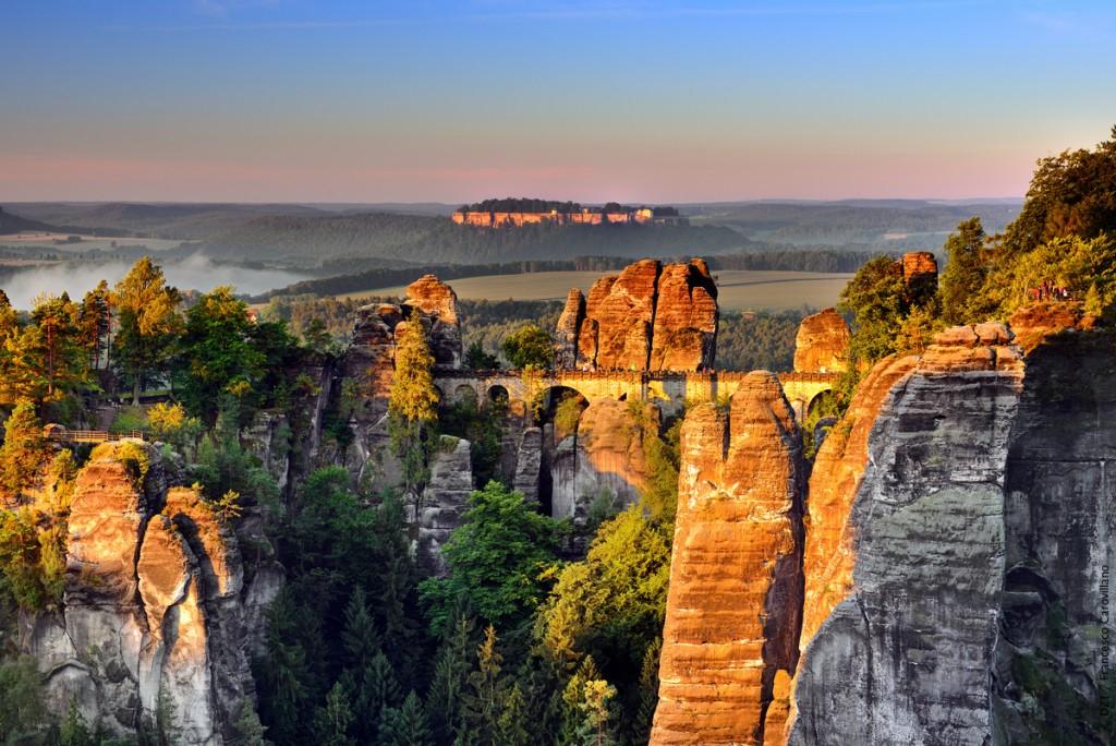 Germany, Bavaria, Saxon-Switzerland National Park.